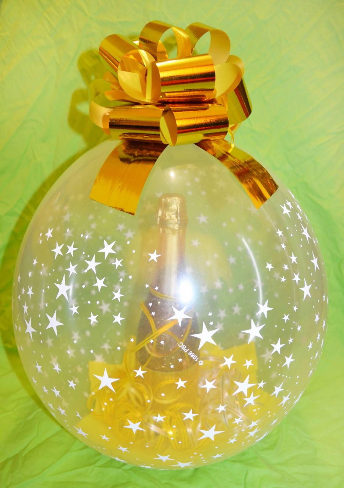 Упаковку подарков в шар